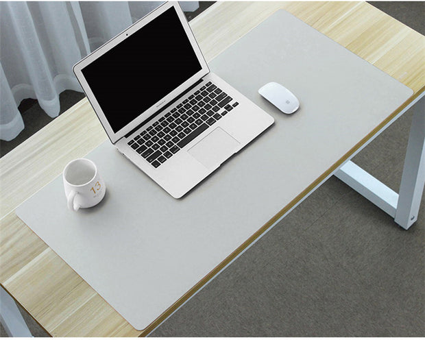 Leather Mat Mouse pad: Grey