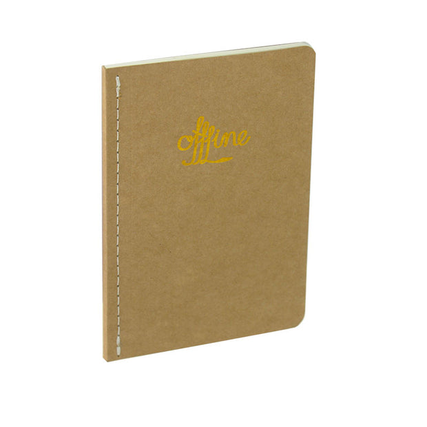 Notes Notebook: Kraft Cover A5
