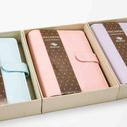 Macaron Leather Notebook: Pink