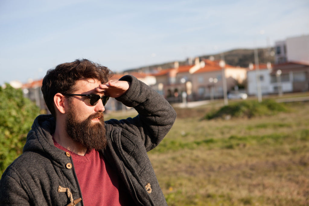 Bearded Man Wearing Sunglasses | 4 Quick & Easy Tips for Grooming Your Beard The Right Way