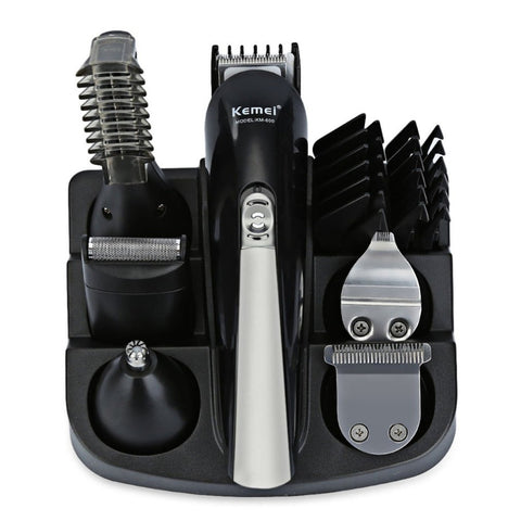 Multifunctional Beard Clippers and Hair Clippers - Rechargeable (220V EU Plug)