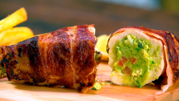 Chicken Stuffed with Guacamole