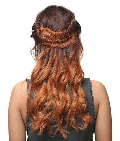 Golden Brown Hair Style
