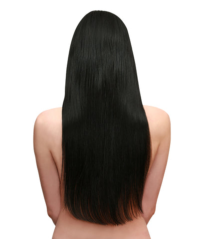 Long Hair Jet Black