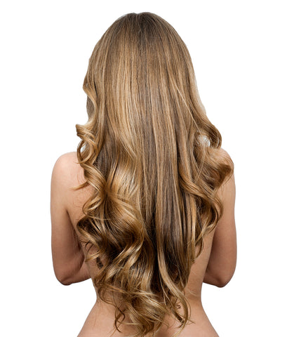 Wavy Hair Extension Brown
