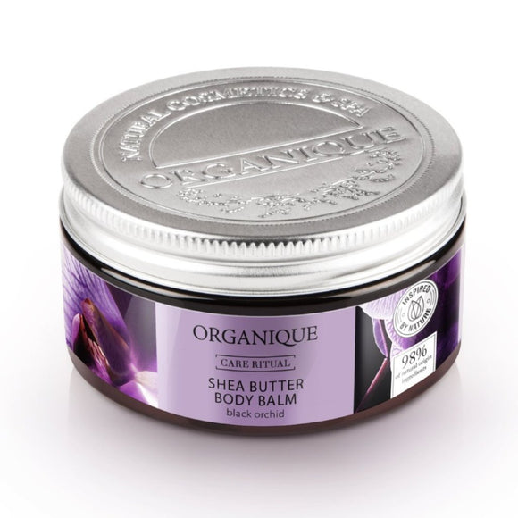 Organique - Shea vaj Testbalzsam, Fekete orchidea (100 ml)