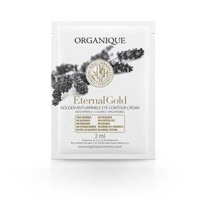Organique - Eternal Gold szemkontúrkrém mintatasak (5x3 ml)