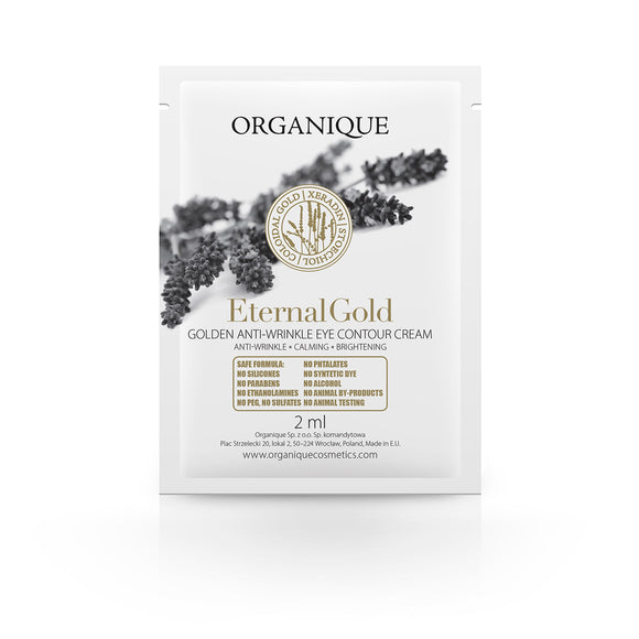 Organique - Eternal Gold szemkontúrkrém mintatasak (3 ml)