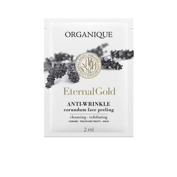 Organique - Eternal Gold korund kristályos bőrradír mintatasak (3 ml)