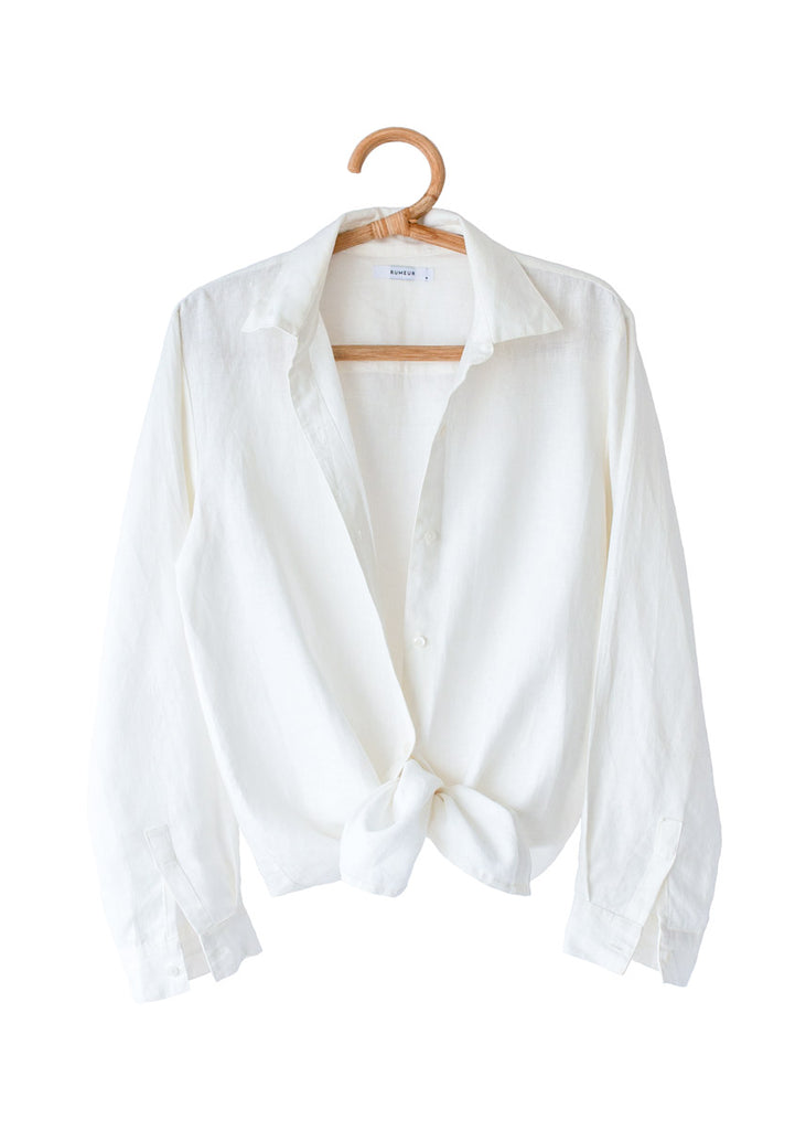 THE CAPRI SHIRT in White