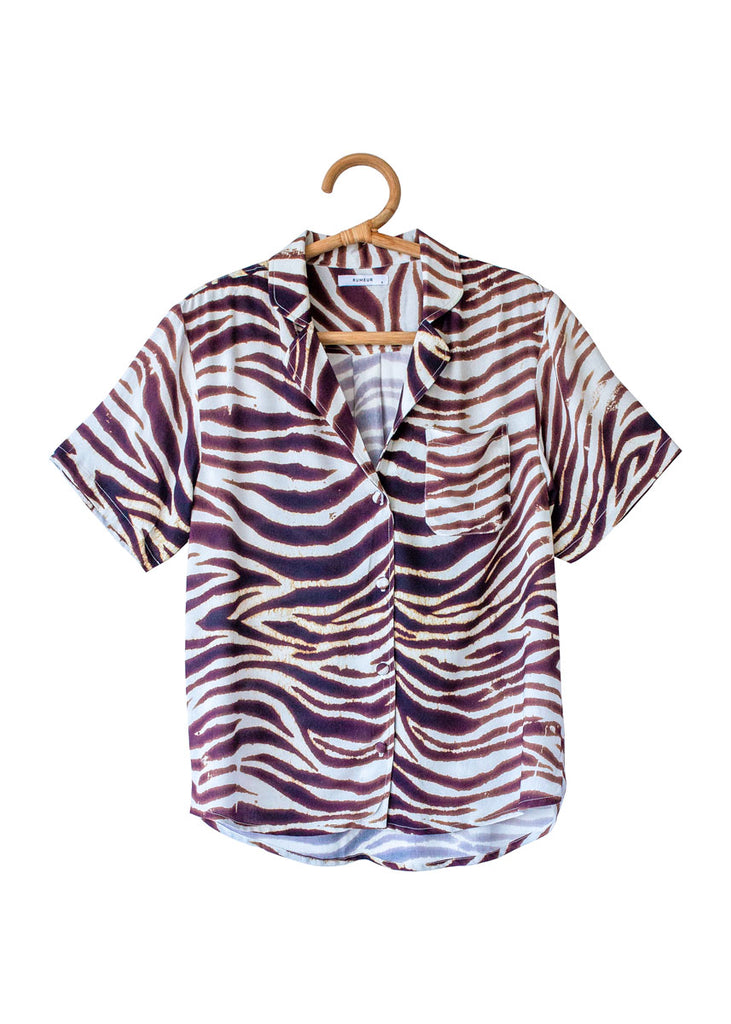 THE FERNANDO SHIRT in Animal