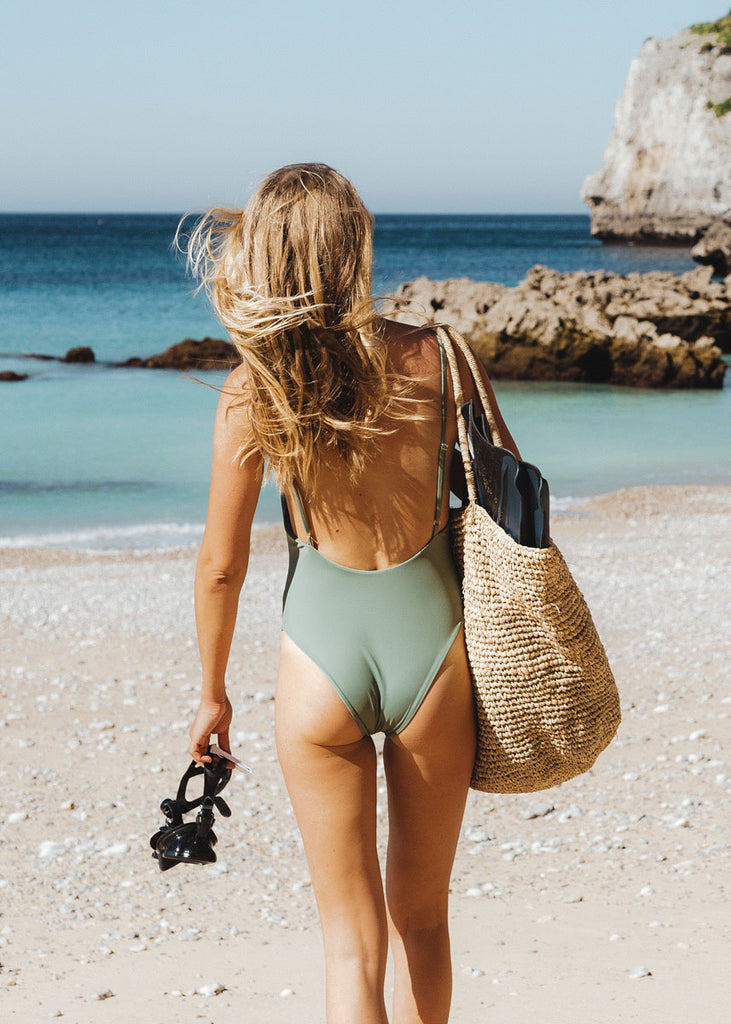 THE HALO ONE PIECE in Sage