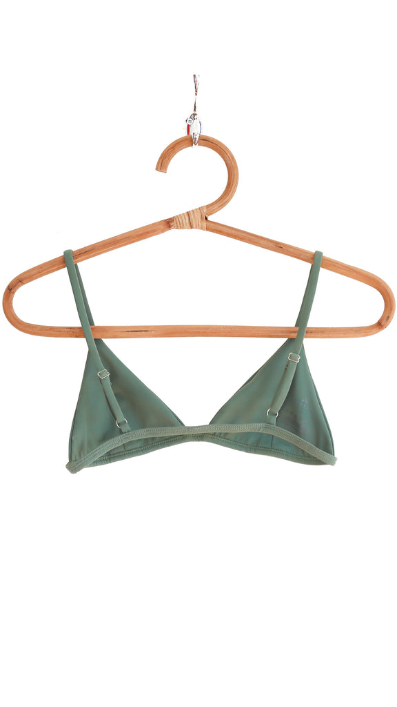 THE HELLE TOP in Sage