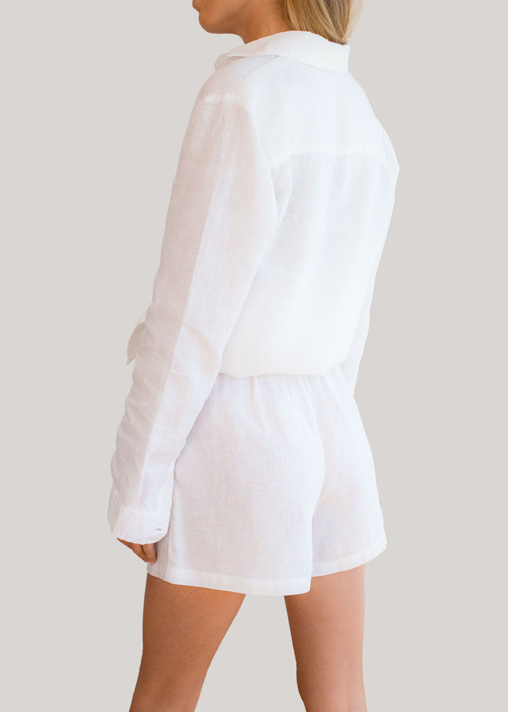 RIMINI SHORT - WHITE