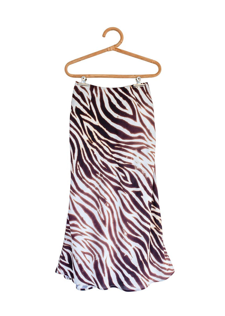 THE VOULEZ-VOUS SKIRT in Animal