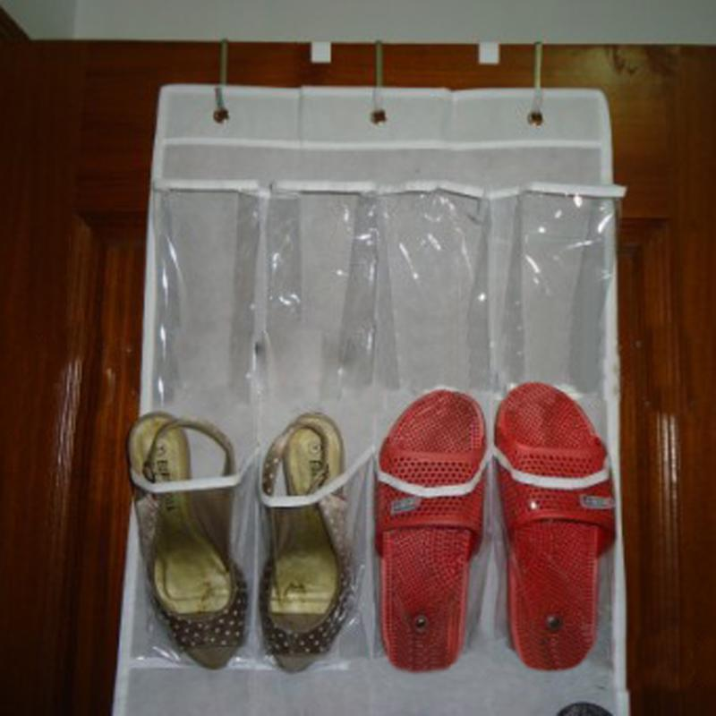 24 Pockets Behind Door Hanging Shoe Organizer - Pop Up Life