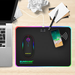 Wireless Charging Luminous Mouse Pad - Pop Up Life