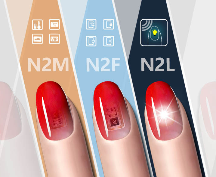 Smart Nail Multifunction Intelligent Nail Required New NFC Smart Wearable Gadget - Pop Up Life