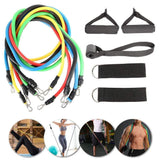 11pcs set Pull Rope Fitness Exercises Resistance Bands - Pop Up Life
