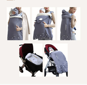 Warm Baby Carrier Cloak Cover Windproof Quilt Stroller Accessories - Pop Up Life