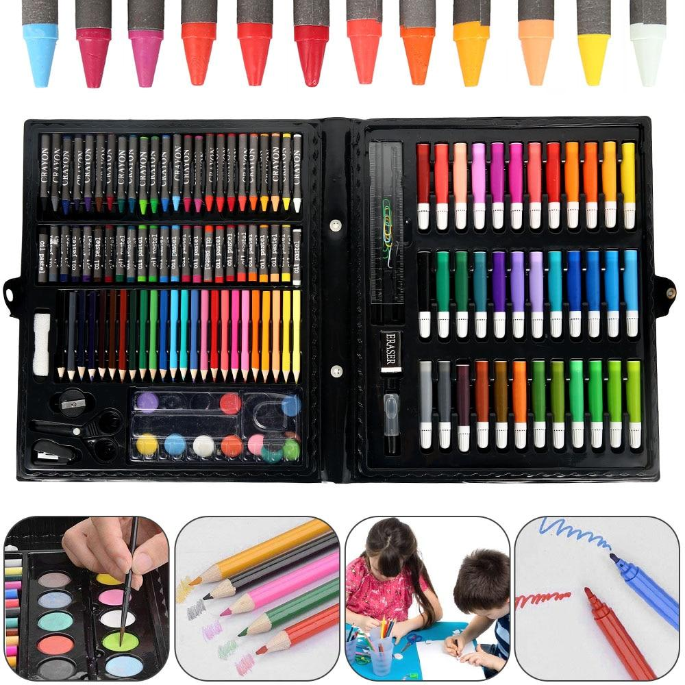 Art Drawing Kit Set with 150 Pieces for Kids & Adults - Pop Up Life