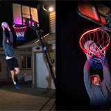 1 PCS LED Basketball Hoop Light Basketball Rim Changing Induction Lamp Shoot Hoops Solar Light Playing At Night LED Strip Lamp - Pop Up Life