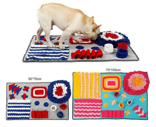 Pet Sniffing Pad Training Blanket Feeding Mat Dog Foraging Skills Toys Pet Activity Training Blanket - Pop Up Life