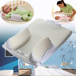 Baby Care Infant Newborn Anti Roll Pillow U ltimate Vent Sleep Fixed Positioner Prevent Flat Head Sleeping Cushion - Pop Up Life