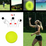 Mini Pocket Flexible Soft New Spin in Catching Game Flying Disc Catch Outside Game Great For kids & Adults - Pop Up Life