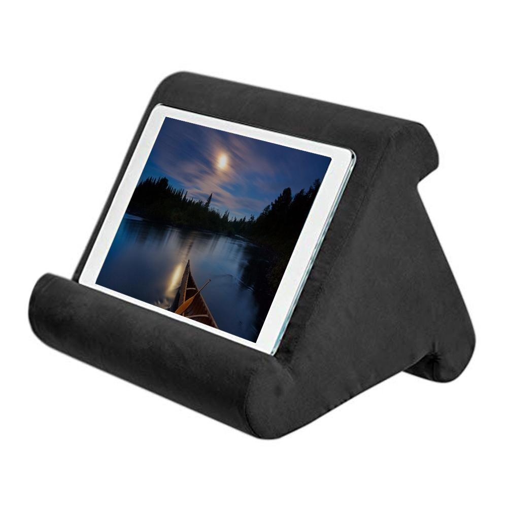 Portable Folding Tablet Holder For iPad Xiaomi Samsung Pad Reading Stand Bracket Soft Pillow Mount Tablet Holder For Smart Phone - Pop Up Life
