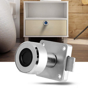 Stainless Steel Fingerprint Drawer Lock - Pop Up Life