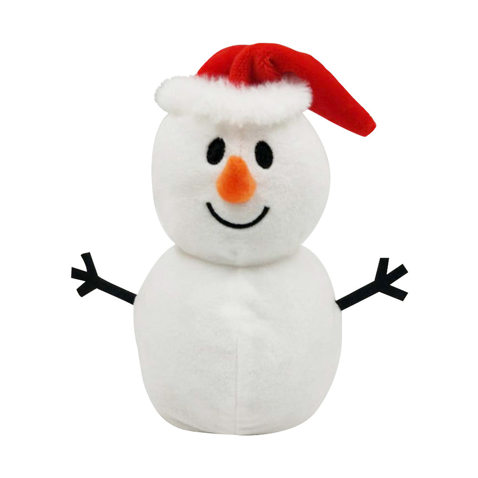 Stylish Double Sided Snowman Doll Flipped Simulation Plush Toys - Pop Up Life