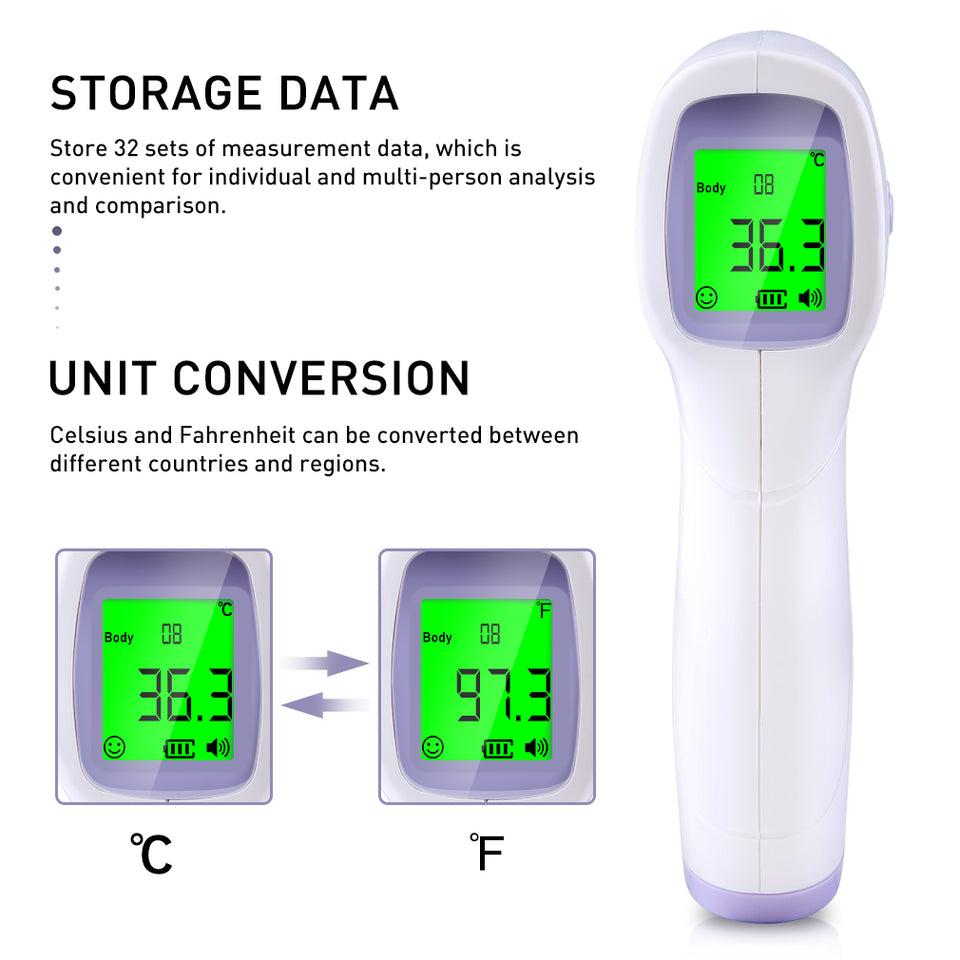 Non-Contact Forehead Thermometer - Pop Up Life