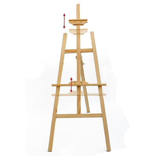 Pine Wood Easel Artist Art Display Painting Shop Tripod Stand - Pop Up Life
