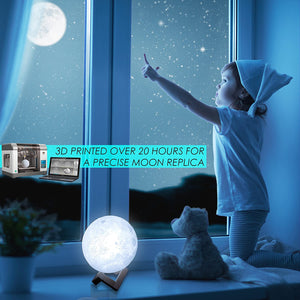 Beautiful Moon Lamp - Pop Up Life