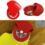 Pizza Gebak Rooster Cutter Gebak Pie Decoratie Cutter Plastic Wiel Roller - Pop Up Life