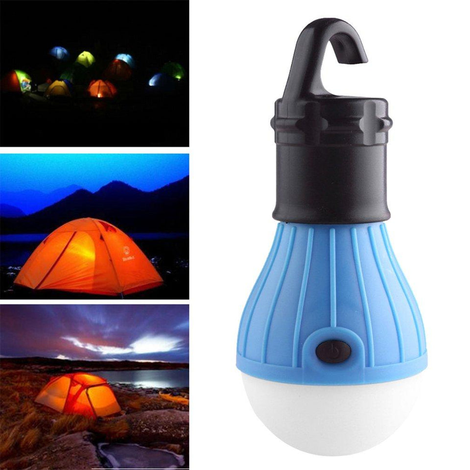 Multifunctional Outdoor Camping Working LED Tent Light Flashlight Portable Emergency Lamp Electric Torch - Pop Up Life