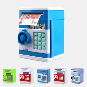 Safety Password Chewing Coin Cash Deposit Machine Electronic Piggy Bank Mini Money Box Gift for Children Kids - Pop Up Life