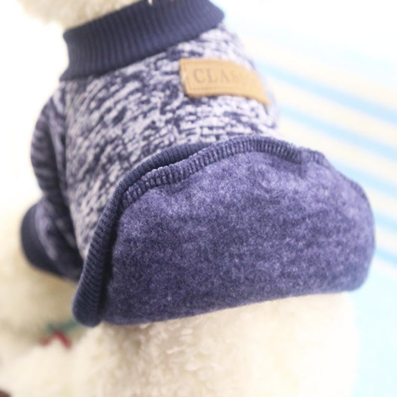Dog Clothes For Small Dogs Soft Pet Dog Sweater Clothing For Dog Winter Chihuahua Clothes Classic Pet Outfit Ropa Perro - Pop Up Life