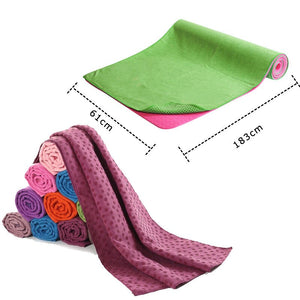 Non Slip Yoga Mat Cover Towel Blanket - Pop Up Life