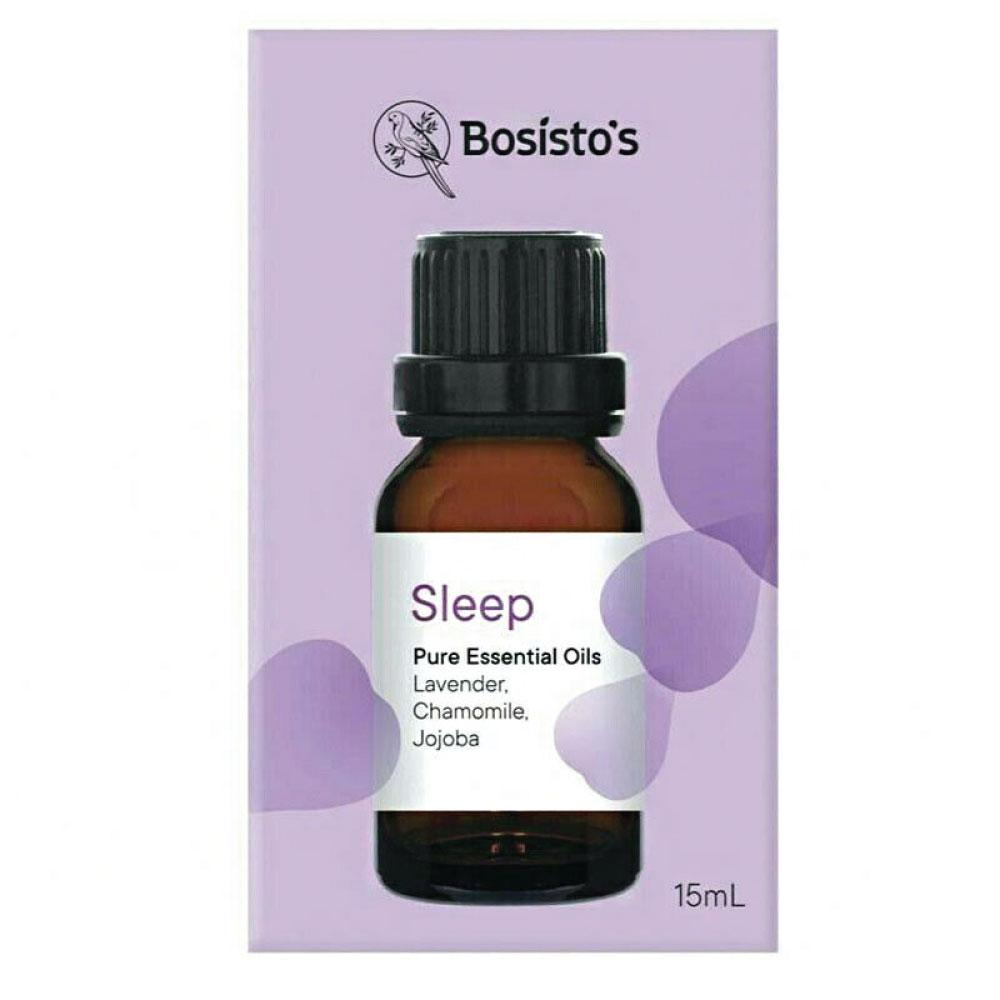Bosisto's Sleep Pure Essential Oils Blend 15ml - Pop Up Life
