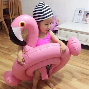 Baby Inflatable Flamingo Swan Kids Swimming Ring - Pop Up Life