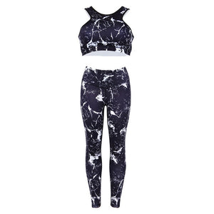 Splash Two Piece Set Fitness Sportswear - Pop Up Life