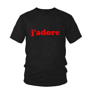 French J'Adore T-Shirt - Pop Up Life