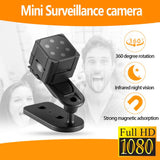 1080P HD Mini Sports Camera Portable Handheld Magnet Adsorption DV Camera Infrared Night Vision Motion Detection Camera - Pop Up Life
