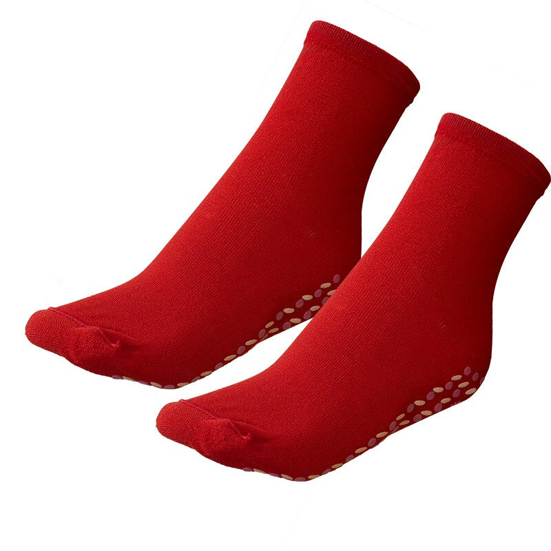 New Magnetic Sock Therapy Comfortable Self-Heating Health Care Sock Tourmaline Breathable Massager Winter Warm Care Heated Socks - Pop Up Life