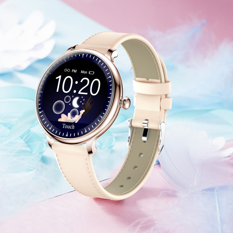 NY12 Stylish Smart Watch Women Heart Rate Monitor Blood Pressure Calories Clock Multi-sport Smartwatch for Android IOS - Pop Up Life