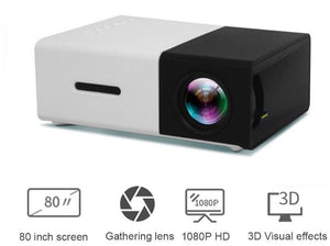 MINI LED HOME THEATRE PROJECTOR FULL HD 1920x1080 PORTABLE - Pop Up Life