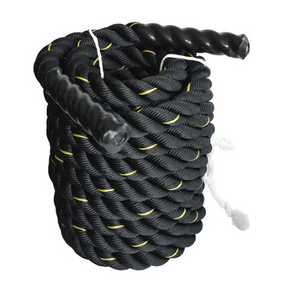 Battle Rope Dia 3.8cm x 9M length Poly Exercise Workout Strength Training - Pop Up Life