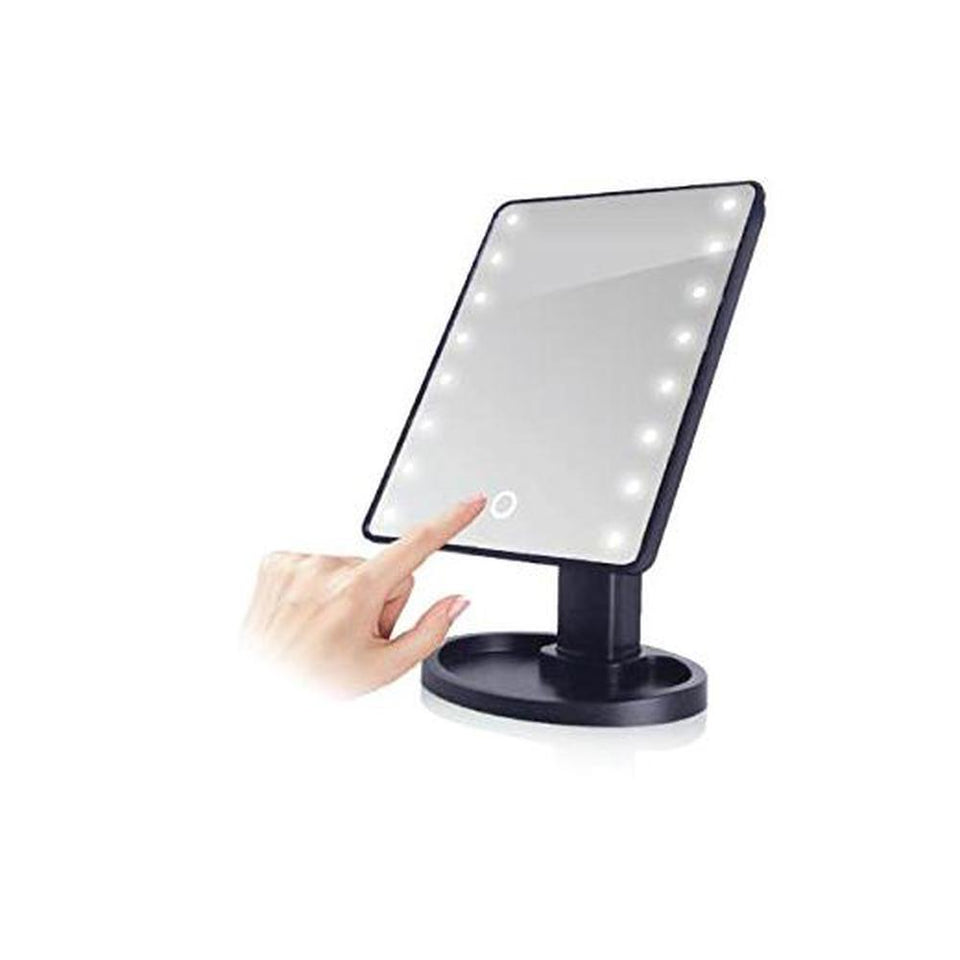 Makeup Vanity Mirror | Swivel LED Light + 10x - Pop Up Life